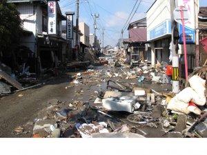 被害状況及び被災地での支援活動