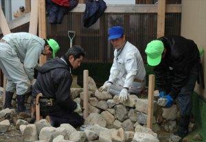 若林区東通仮設住宅 への支援活動