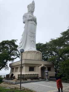 平和観音像 記念事業「伊達な庭」9月8日迄の完了画像