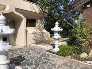 平和観音像 記念事業「伊達な庭」の作庭前