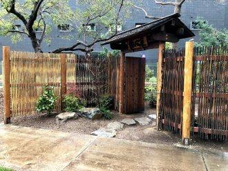 米国リバサイド市結心庭修復事業_完成